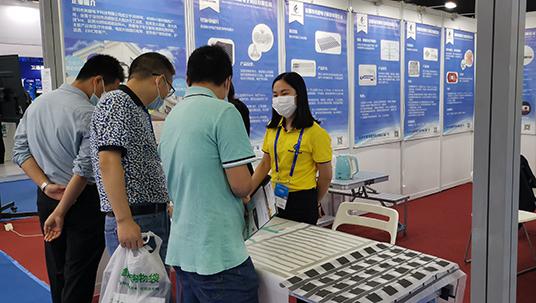 亮键电子亮相于深圳市第22届高交会智慧医疗展