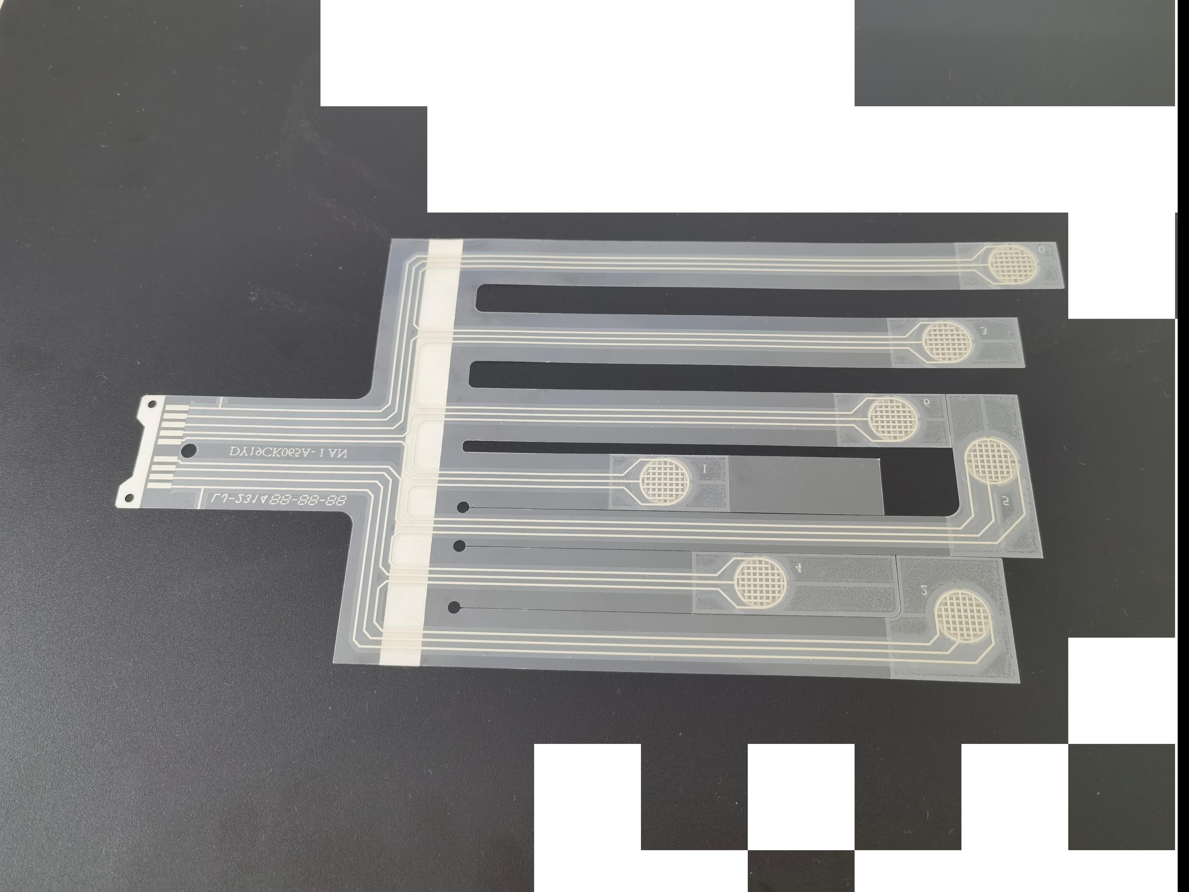薄膜玩具线路,PET薄膜为基材制成的柔性线路板